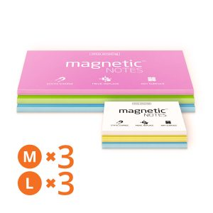 6 pads of Magnetic Notes