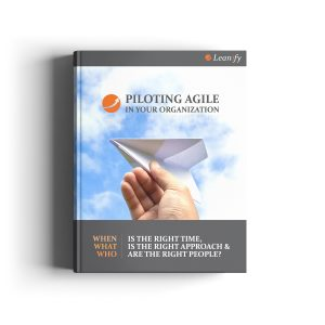 Piloting Agile Boook Cover