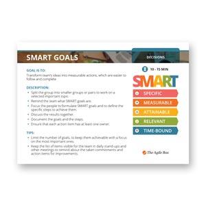 Retrospectiv Card: Smart Goals