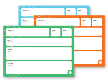Order User Story Cards