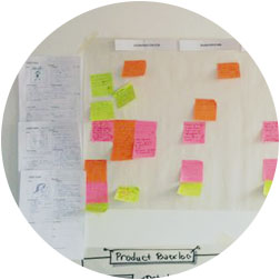 Paper Sticky Notes on Workshop