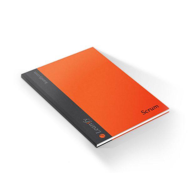 Soft cover Scrum notebook