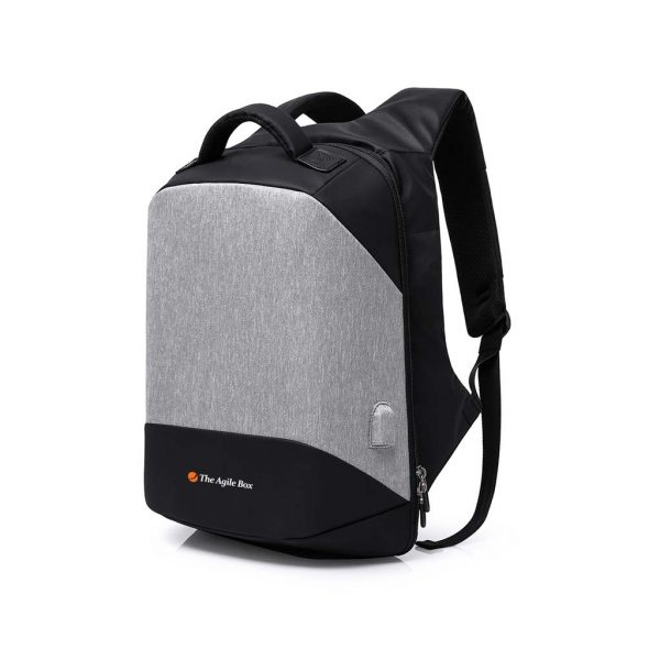 Front view of the Agile backpack