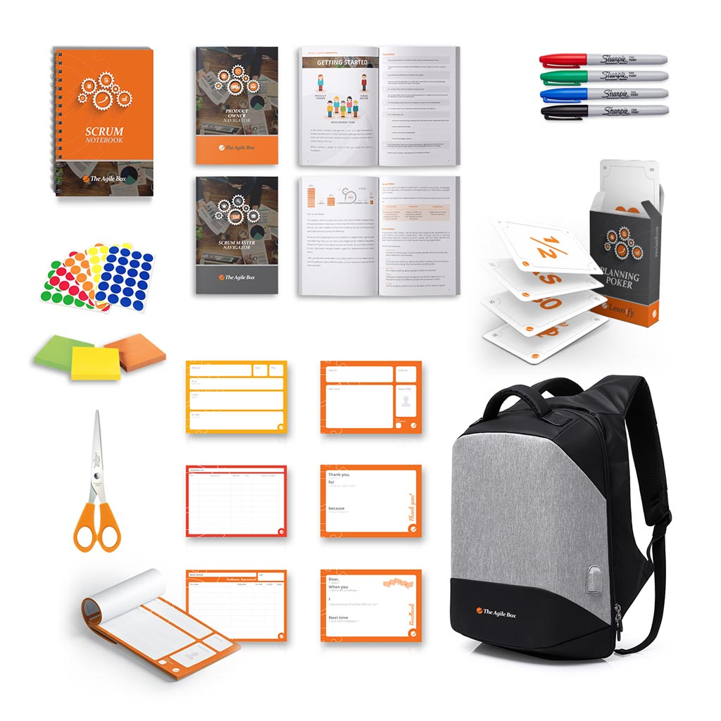 The Agile Box: Backpack & Content
